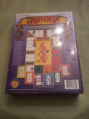 Dynasty A Fast Paced Card & Board Game. A Game to Remember G2R 2005