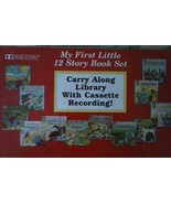 My First Little 12 Story Book Set Carry Along Library with Cassette Reco... - $165.00