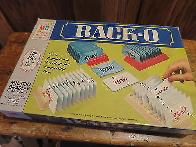 RACK-O Milton Bradley 1961