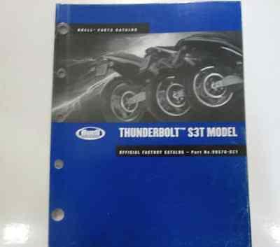 2002 Buell Thunderbolt S3T Model Service Shop Repair Manual Set W Parts Catalog