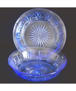 American Blue Vintage Fostoria for Avon Soup Sa... - $14.80
