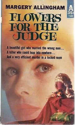 FLOWERS FOR THE JUDGE by Margery Allingham (Avon) pb