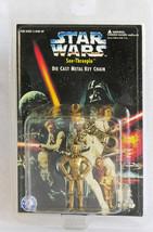 Star Wars C3PO See-Threepio 1996 Diecast Keychain Brass Colored - $9.85