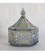 Indiana Glass Carnival Colonial Candy Box with ... - $19.30