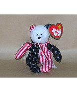 Ty Teenie Beanie Baby Spangle Bear Original - $6.85