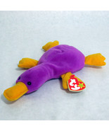 Ty Patti Beanie Baby Platypus  Beanbag Plush 1993 PVC - $9.85