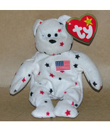 Ty Teenie Beanie Baby Glory  Bear Original - $6.85