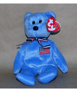 Ty America Bear 9-11 2001 Beanie Baby Patriotic - $9.70