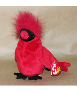 Ty Beanie Baby Mac the Cardinal 1998 Original - $10.65