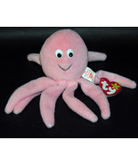 Ty Beanie Baby Inky Octopus PVC Pellets Original - $19.30