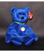 Ty Clubby Beanie Baby Bear BBOC 1998 Original - $12.55