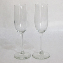 Clear Crystal 8 Ounce Champagne Flute Pair - $11.83