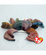 Ty Claude Beanie Baby Crab Beanbag Plush 1996 - $8.86