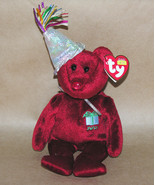 Ty Beanie Baby July Birthday Bear 2002 - $7.80