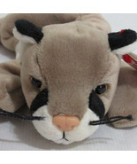Ty Canyon  Beanie Baby Cougar Beanbag Plush 1998 - $10.84