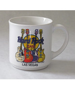 Hard Rock Cafe Las Vegas Guitars 12 Ounce Coffe... - $9.85