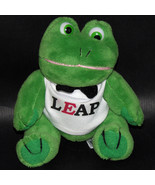 Leap Frog Steven Smith Stuffed Plush Green Stuffed Animal - $10.84