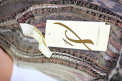 NWT Collection XIIX Eighteen Ancient Stone Sequins Infinity Loop 22x38 image 2