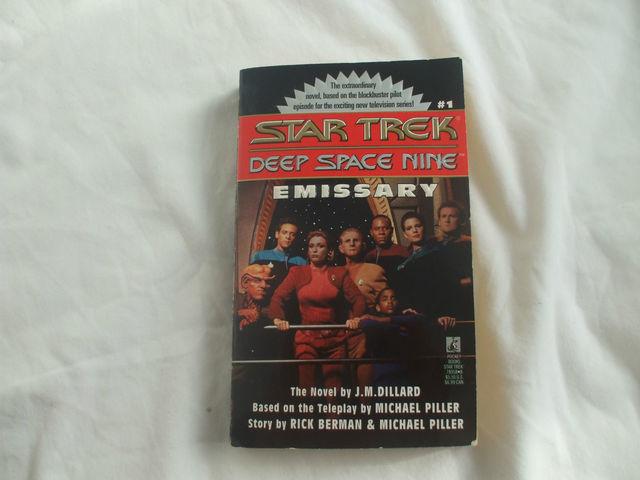 Star trek deep space nine emissary paperback