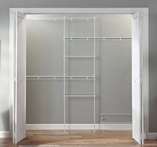 Wire Closet Shelving System Organizer Kit Stora... - $124.99
