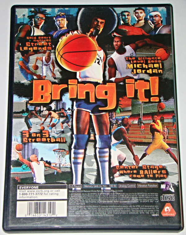 Playstation 2 - EA SPORTS BIG - NBA STREET (Complete with Instructions)