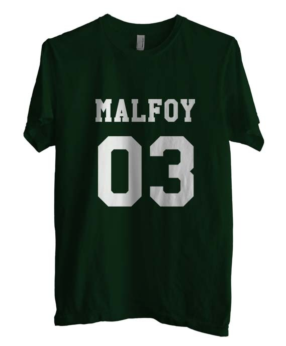 Malfoy 03 1color men tee forest