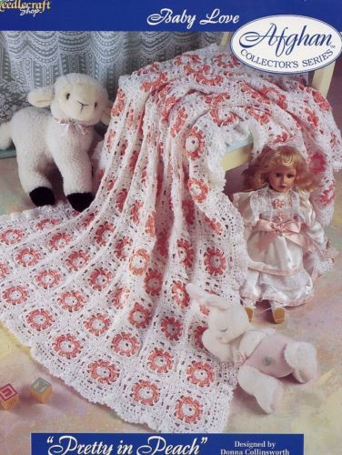 Pretty in Peach Afghan TNS Baby Love Crochet Pattern - 30 Days to Shop & Pay!