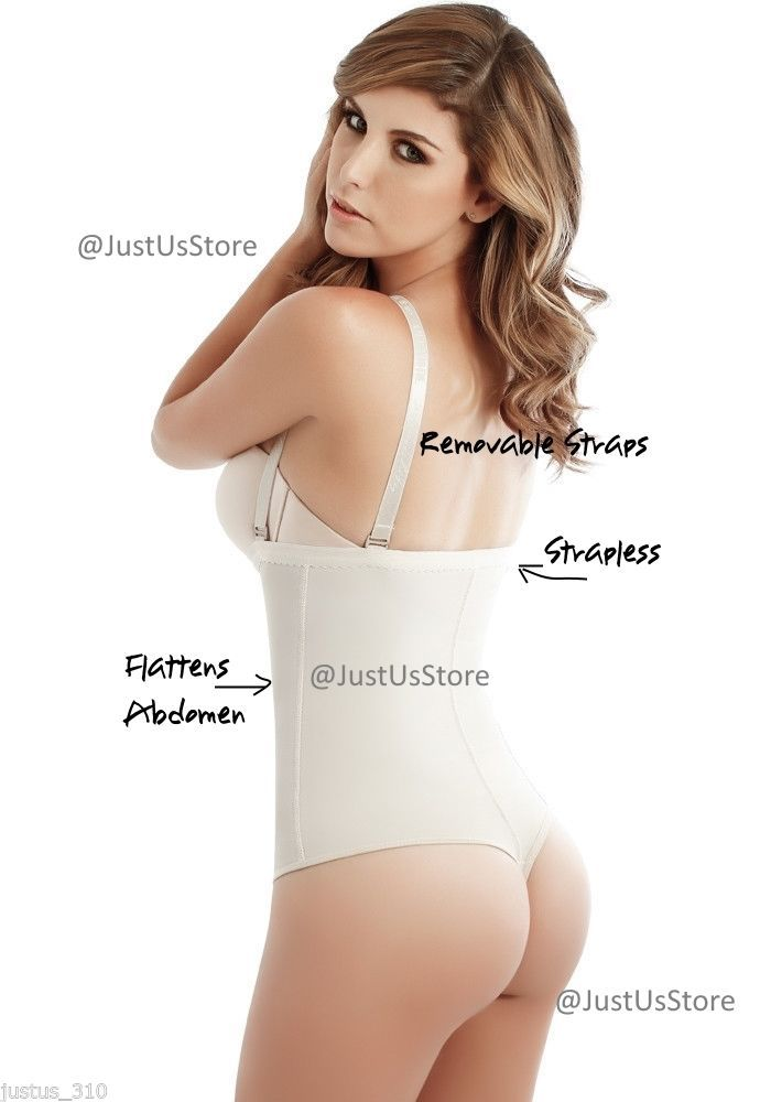 Faja Colombiana Postpartum Belly Shaper Post-Surgery Girdle Thong/Strapless