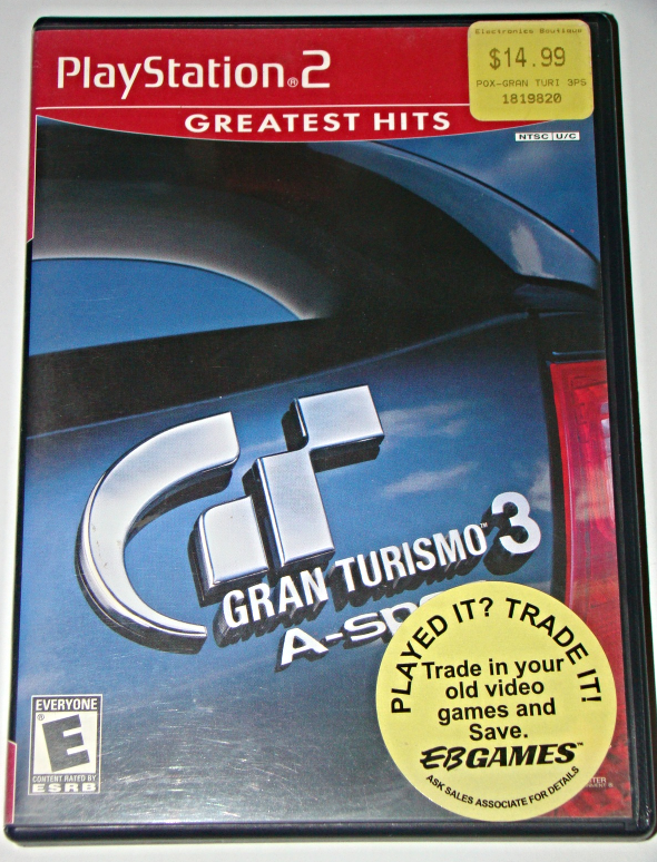 Playstation 2 - GRAN TURISMO A-spec (Complete with Instructions)