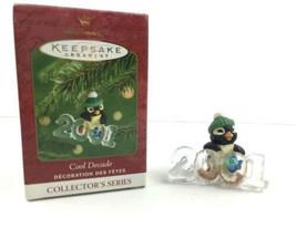 Hallmark Keepsake Ornament Cool Decade 2001 #2 in Series Penguin - $7.25