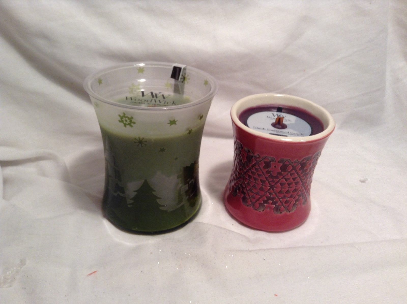 NEW WoodWick X-Mas/Holiday-Themed Candles