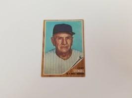 1962 Topps Casey Stengal Baseball Card #29 New York Mets VG No Creases HOF - $8.32