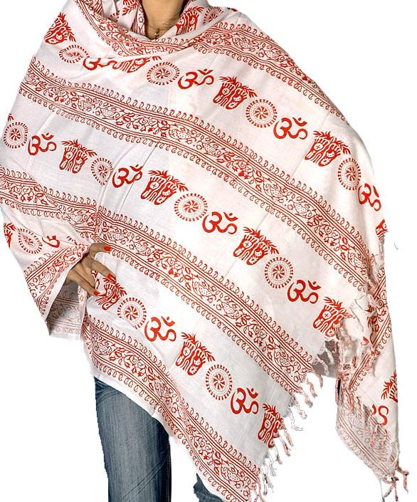Ei om prayer shawl ar36
