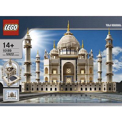 Rare! LEGO  Sculptures Taj Mahal Set 10189 5922pcs Castle NEW EMS Free shipping!