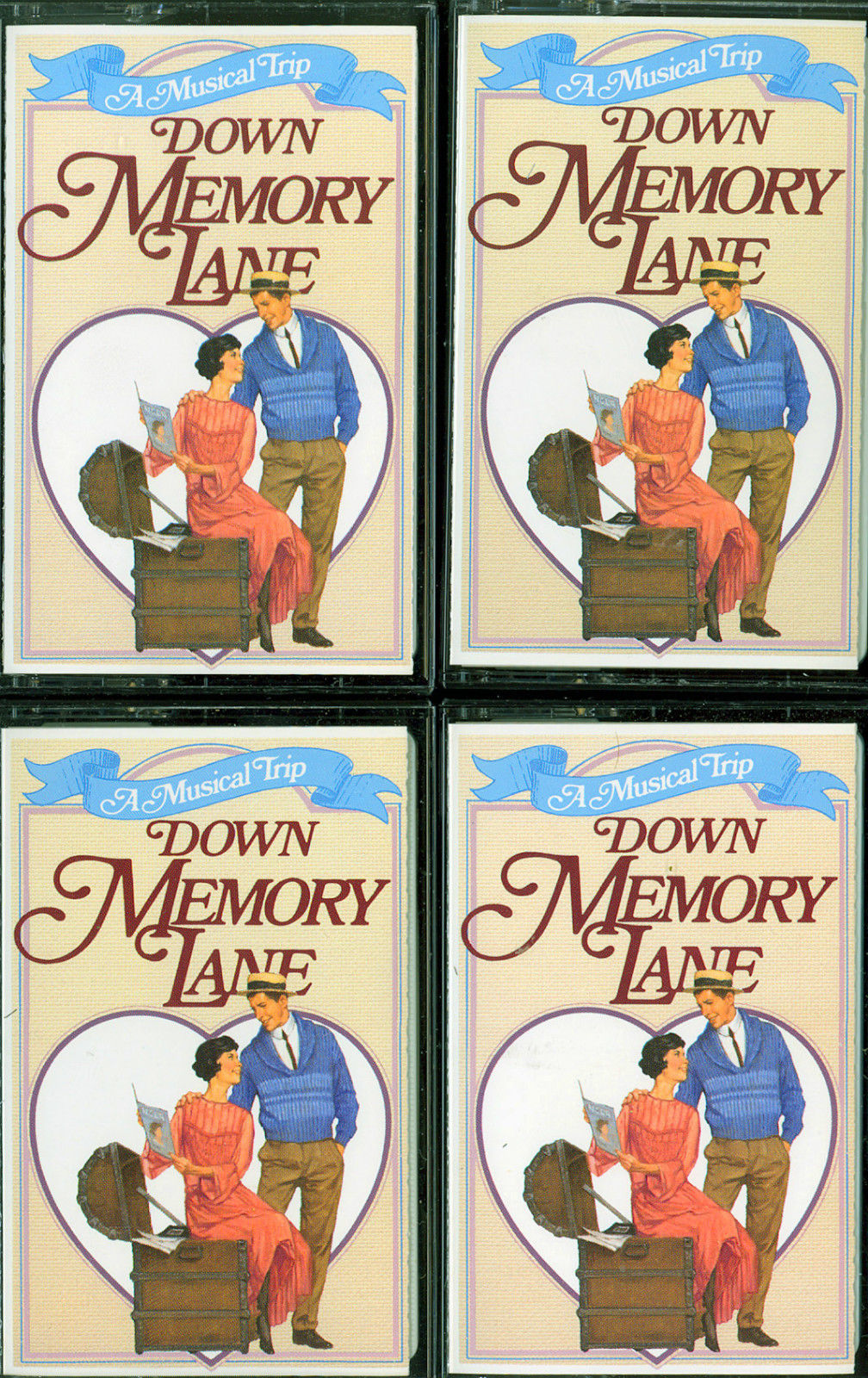 Readers Digest - 'A Memory Trip Down Memory Lane' - 4 Double Length Cassettes