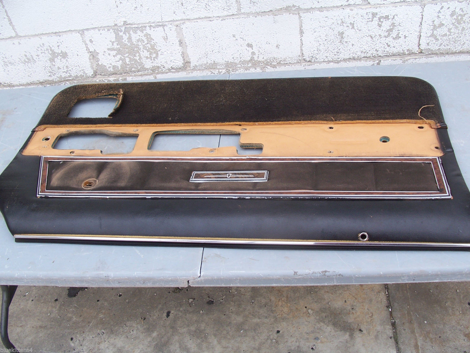 1977 THUNDERBIRD LEFT INSIDE DOOR PANEL OEM USED ORIG FORD 1978 1979