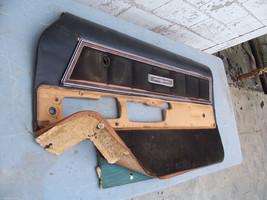 1977 THUNDERBIRD RIGHT BROKEN INSIDE DOOR PANEL OEM USED FORD 1978 1979 - $126.23
