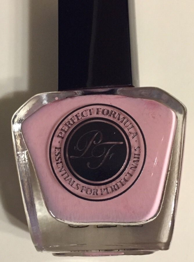 Perfect Formula The Perfect Color Nail Polish in Delicate, Rose Color .40oz NIB