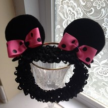Baby Girl & Older Minnie Mouse Ear Headband (Red, Hot Pink Or Pink) - $9.00
