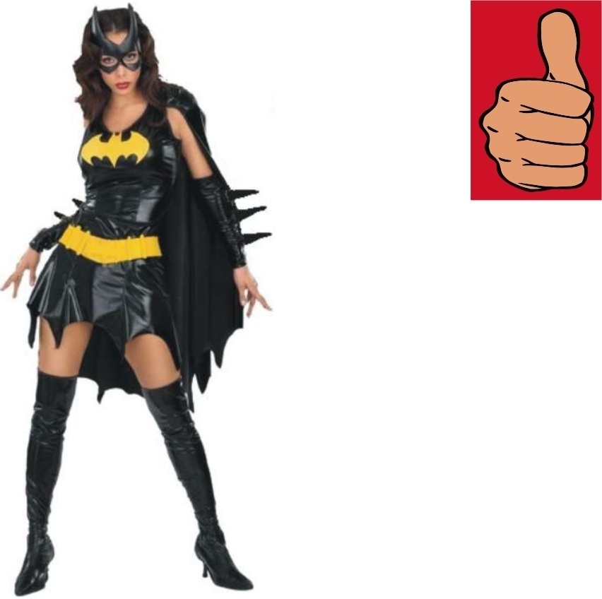 Primary image for Batman - Costume - Secret Wishes - Batgirl - Medium - Size 10-14 - Sexy Adult