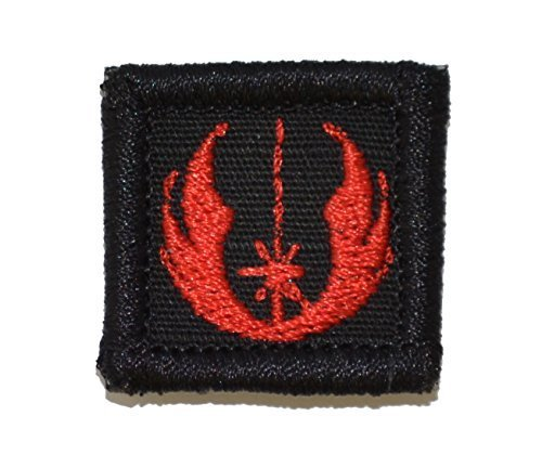 Jedi Order Galactic Republic Jedi Knights 1x1 inch Military Patch / Morale Pa...
