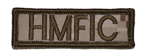 HMFIC Head Mother F****er inCharge 1x3 inch Military Patch / Morale Patch - M...