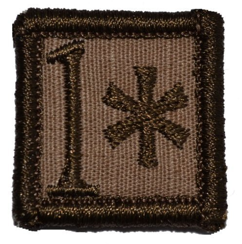 1* One Ass to Risk 1x1 inch Military Patch / Morale Patch - Multiple Colors (...