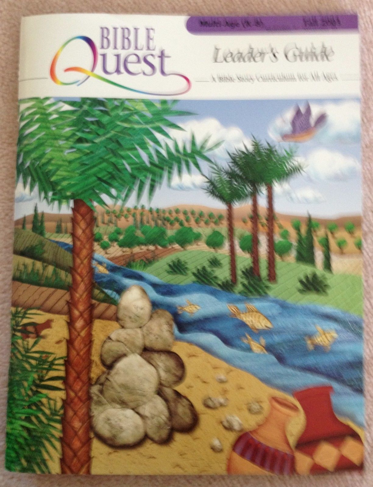Bible Quest Leader's Guide CD Multi-Age K-8 Faith Formation Church Sunday School