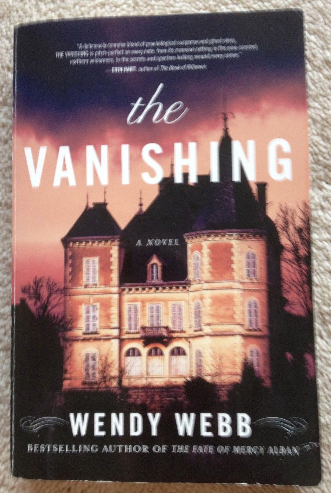The Vanishing by Wendy Webb Psychological Suspense Paperback 2014