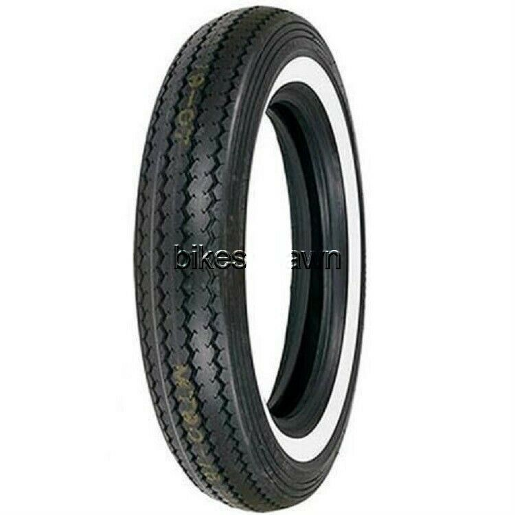 New Shinko Classic 240 Wide White Wall Front, Rear 100/90-19 Motorcycle Tire 63H