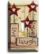 LIVE LAUGH LOVE SINGLE LIGHT SWITCH WALL PLATE KITCHEN DECOR LIVING ROOM BEDROOM - $8.99
