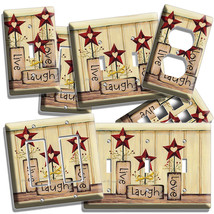 Live Laugh Love Light Switch Wall Plate Outlet Kitchen Decor Living Room Bedroom - $9.99+
