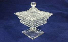 "Vintage Fostoria American Clear Pressed Glass 8 1/4"" Small Wedding Bowl ... - $89.99"