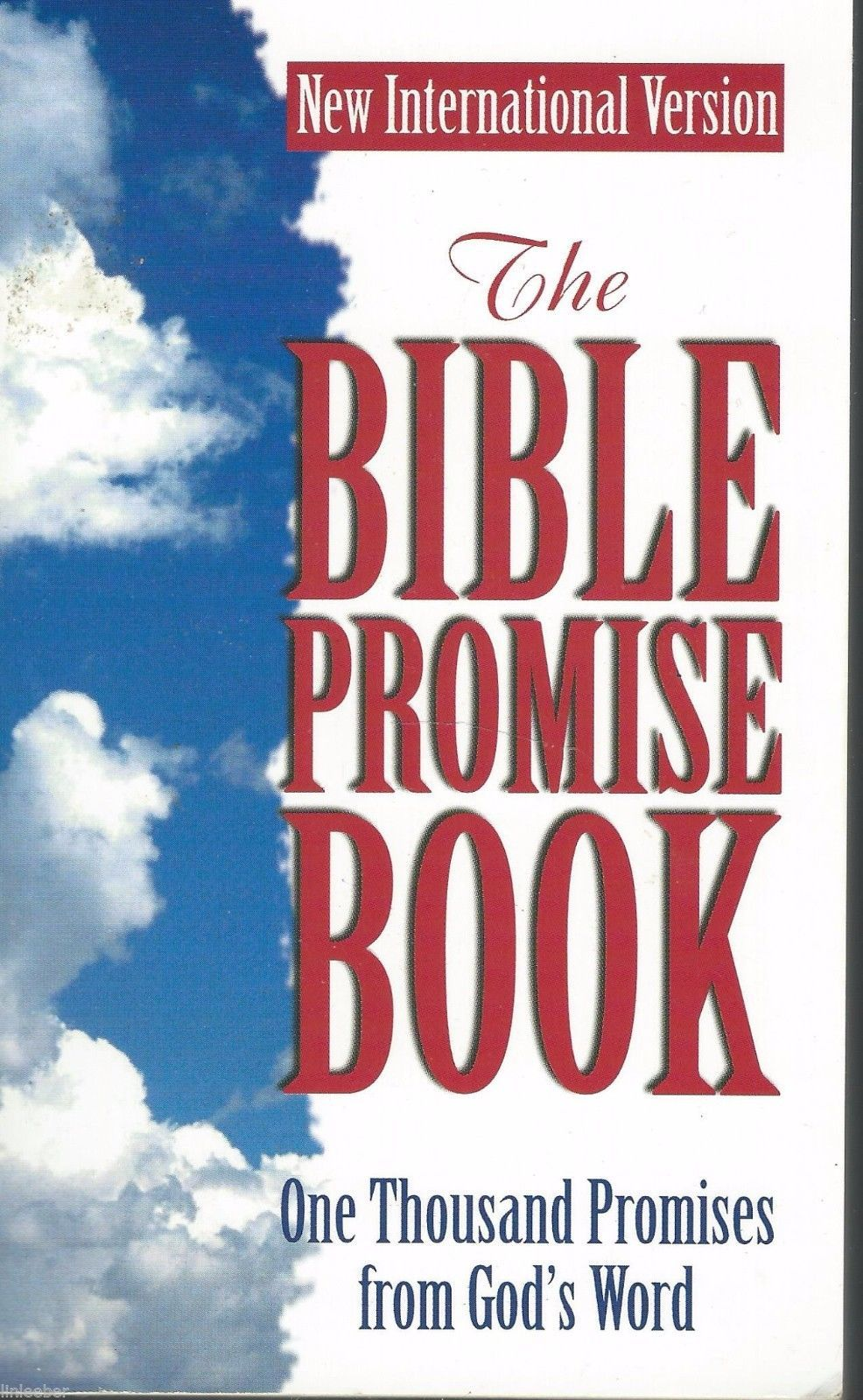 The Bible Promise Book:One Thousand Promises from God's Word;NIV;1991 PB